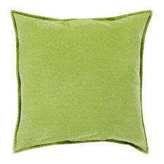 Cotton Velvet Pillow Cover 22x22x0.25
