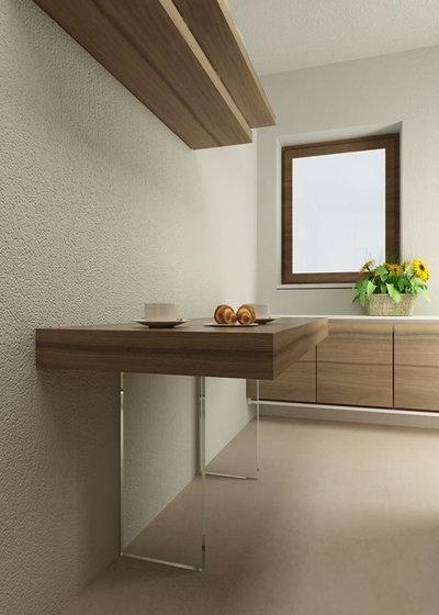 10 stili per scegliere il tavolo della cucina - Tavolo cucina piccolo ...