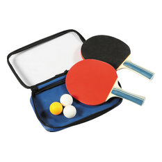 Blue Wave Products, Inc - Blue Wave 2 Table tennis Rackets and 3 Balls - Game Table Accessories