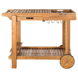 Craftsman Outdoor Serving Carts by HedgeApple