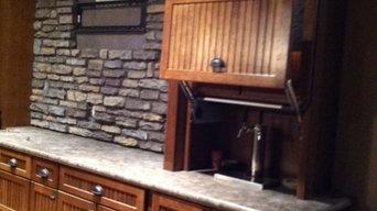 Lower level Bar/Kitchen