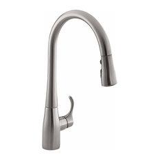 KHR K-596-VS Simplice Pull-Down Faucet, Vibrant Stainless
