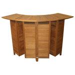 Atlanta Teak Furniture - Teak Collapsable Bar Counter - Product description: