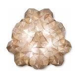 Drusa - extravagant designer ceiling light, cream