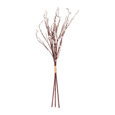 3' Brown Twig Light With 60 Warm White LEDs