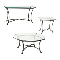 Hammary Furniture - Hammary Sutton Round 3-Piece Coffee Table Set - Coffee Table Sets