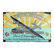 Red Horse Tropic Breeze Sign - 15 x 26