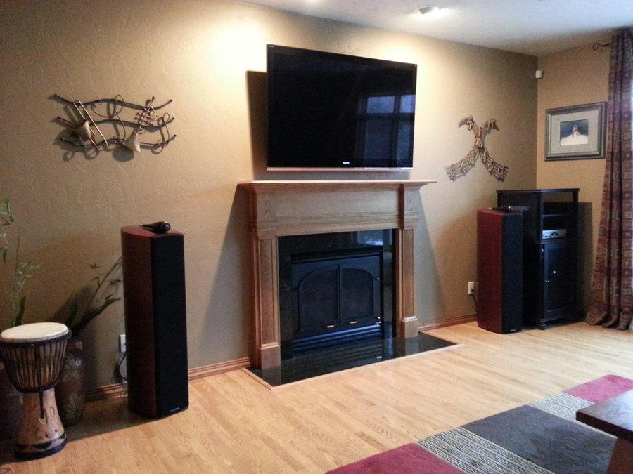 Home Entertainment Livingroom for Music Lovers