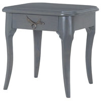 Dimond Home Edward Side Table, Antique Smoke