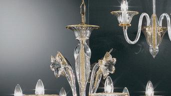 Lampadari in vetro collezione 2015/2016