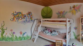 "Kinderzimmer ""Fairy land"""