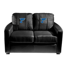St. Louis Blues NHL Silver Love Seat