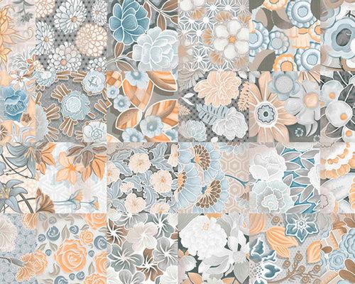 Flore Gris - Wall & Floor Tiles
