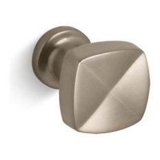 Kohler Margaux Knob Cabinet Hardware, Vibrant Brushed Bronze