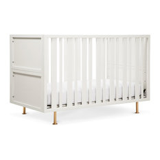 Nursery Works - Novella Crib, Dune White - Cribs