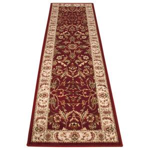 Wool Classic 636R Runner, Red, 68x235 cm