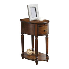 Acme Furniture   Peniel Side Table, Dark Oak   Side Tables And End Tables