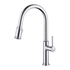 KRAUS Sellette Pull Down 2-Function Kitchen Faucet, Chrome