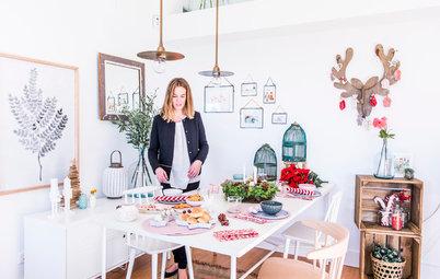 Mesas de Navidad: Sorprende a los tuyos con una de estilo nórdico