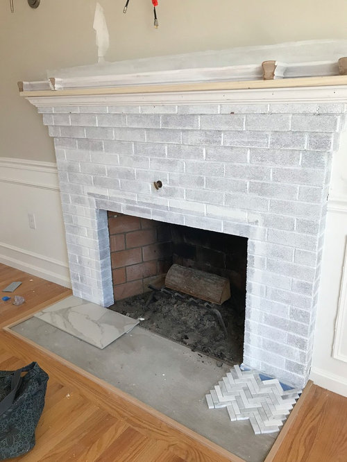 Fireplace Hearth Tile, Can You Tile A Fireplace Surround