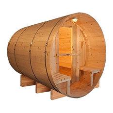 Aleko 8 Person Cedar Sauna With ETL Electrical Heater