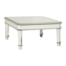 mirrored coffee tables | houzz