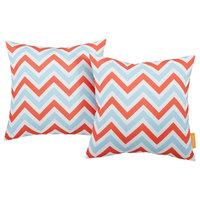 Modway Outdoor Patio Pillows, Set of 2