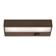 """WAC Lighting LEDme 8"""" 120V Light Bar 3000K Soft White in Brushed Bronze"""