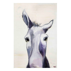 """""""Donkey"""" Painting Print on Canvas by Tori Campisi"""