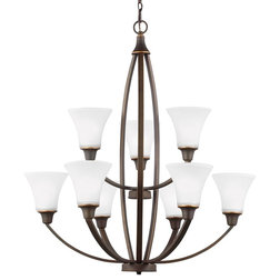 Cute Transitional Chandeliers by Sea Gull Lighting