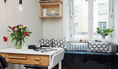 kleine r ume ideen tipps tricks. Black Bedroom Furniture Sets. Home Design Ideas