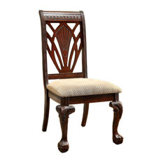 Petersburg I BM131194 Traditional Side Chairs, Cherry, Set of 2