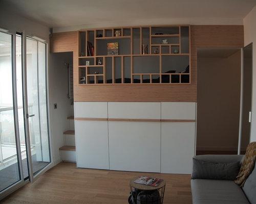 Agencement Studio - Lit Mezzanine Paris 15ème