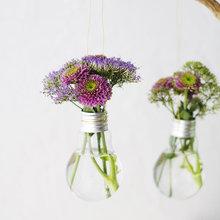DIY : Recycler vos ampoules en vases suspendus