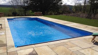 Swimming Pool Construction - Cheriton Bishop, near Exeter
