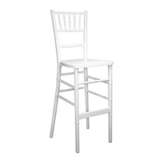 Chiavari Bar Stools, White