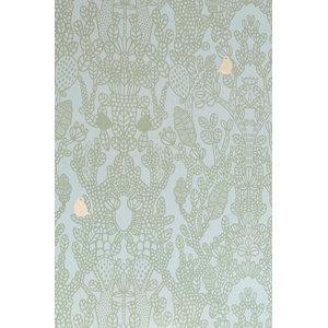 Amelie Wallpaper, Green