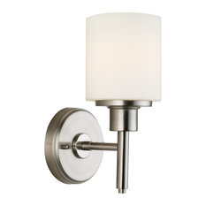 "Design House 587360 Aubrey 1 Light 11"" Tall Integrated LED - Nickel"