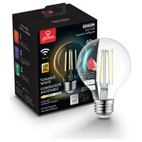 Wi-Fi Smart 60W Equivalent Vintage Filament Tunable Dimmable LED Bulb