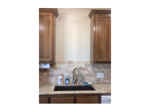 Need Suggestions On Wall Above Kitchen Sink