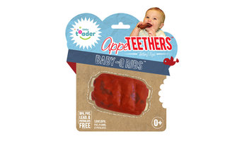 AppeTEETHERS Teething Toys - Baby-Q Ribs