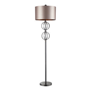 Dimond Danforth Floor Lamp In Coffee Plating With