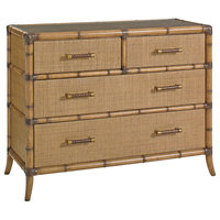 Tommy Bahama Home Twin Palms Bermuda Sands Chest, Medium Umber 558-624