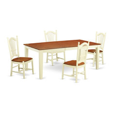 5 Piece Table And Chair Set 4-Dining Chairs