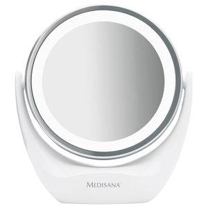 Medisana 2-in-1 Cosmetic Mirror, White, 12 cm
