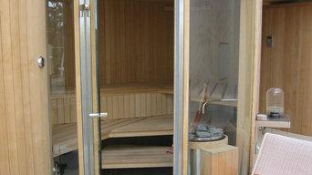 Sauna K in einem privaten Wellnessbereich Bild 1