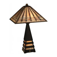 """24"""" Ra Lighted Base Table Lamp"""