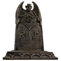 Vampire Demon Tombstone Statue