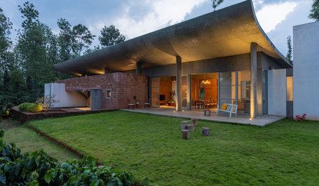 Mudigere Houzz: This Vacation Home Lies Between Sunrise & Sunset