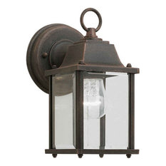 Forte Lighting 1705-01 1 Light Outdoor Wall Sconce